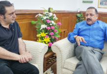 J&K and Central Minister Meet