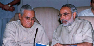 Atal Bihari Vajpayee and PM Modi