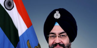 Air Chief Marshal B.S. Dhanoa takes over as the Chief of Air Staff, in New Delhi on December 31, 2016.