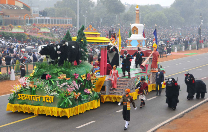 Arunachal Pradesh at Republic Day Parade 2017