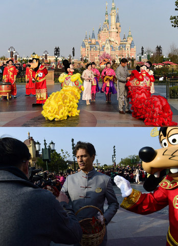 Shanghai Disney Resort Marks its First Chinese New Year
