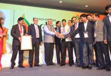 The Minister of State for Electronics & Information Technology and Law & Justice, Shri P.P. Chaudhary gave away the awards to the winners, at the valedictory session of the 20th National Conference on e-Governance, in Visakhapatnam on January 10, 2017.