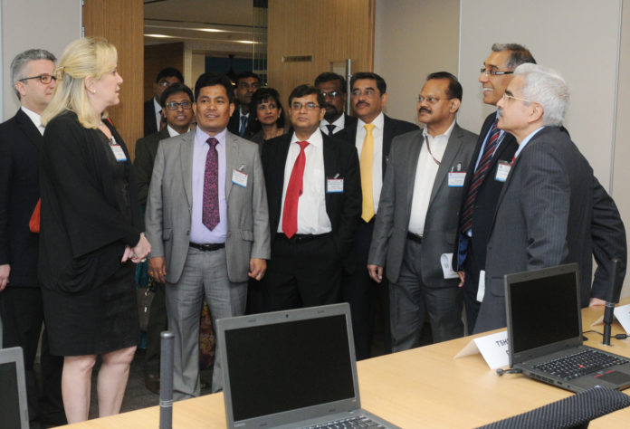 The Secretary, Department of Economic Affairs, Shri Shaktikanta Das visiting after inaugurating the International Monetary Fund (IMF)'s South Asia Regional Training and Technical Assistance Centre (SARTTAC), in New Delhi on February 13, 2017.