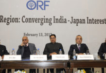 The Minister of State for Home Affairs, Shri Kiren Rijiju at the seminar on 'Indo-Pacific Region: Converging India-Japan Interests', organised by the Observer Research Foundation, in New Delhi on February 13, 2017.