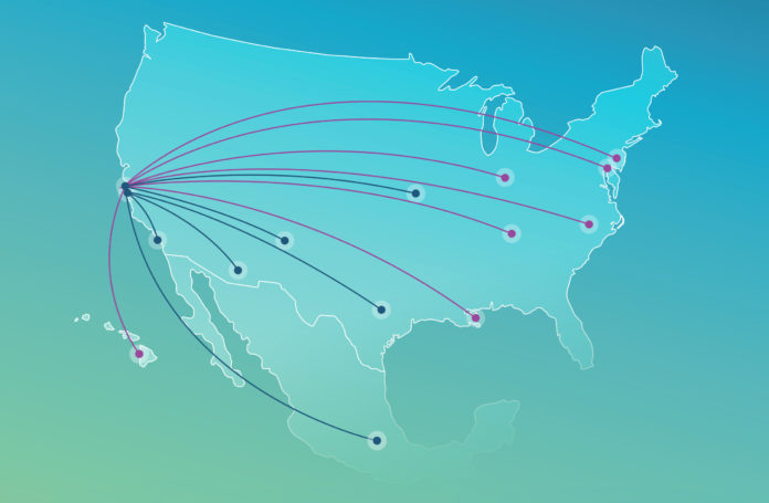 Alaska Airlines announces 13 new nonstop routes from the Bay Area