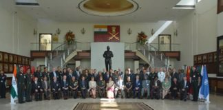 Senior Mission Leaders Train at Manekshaw Centre