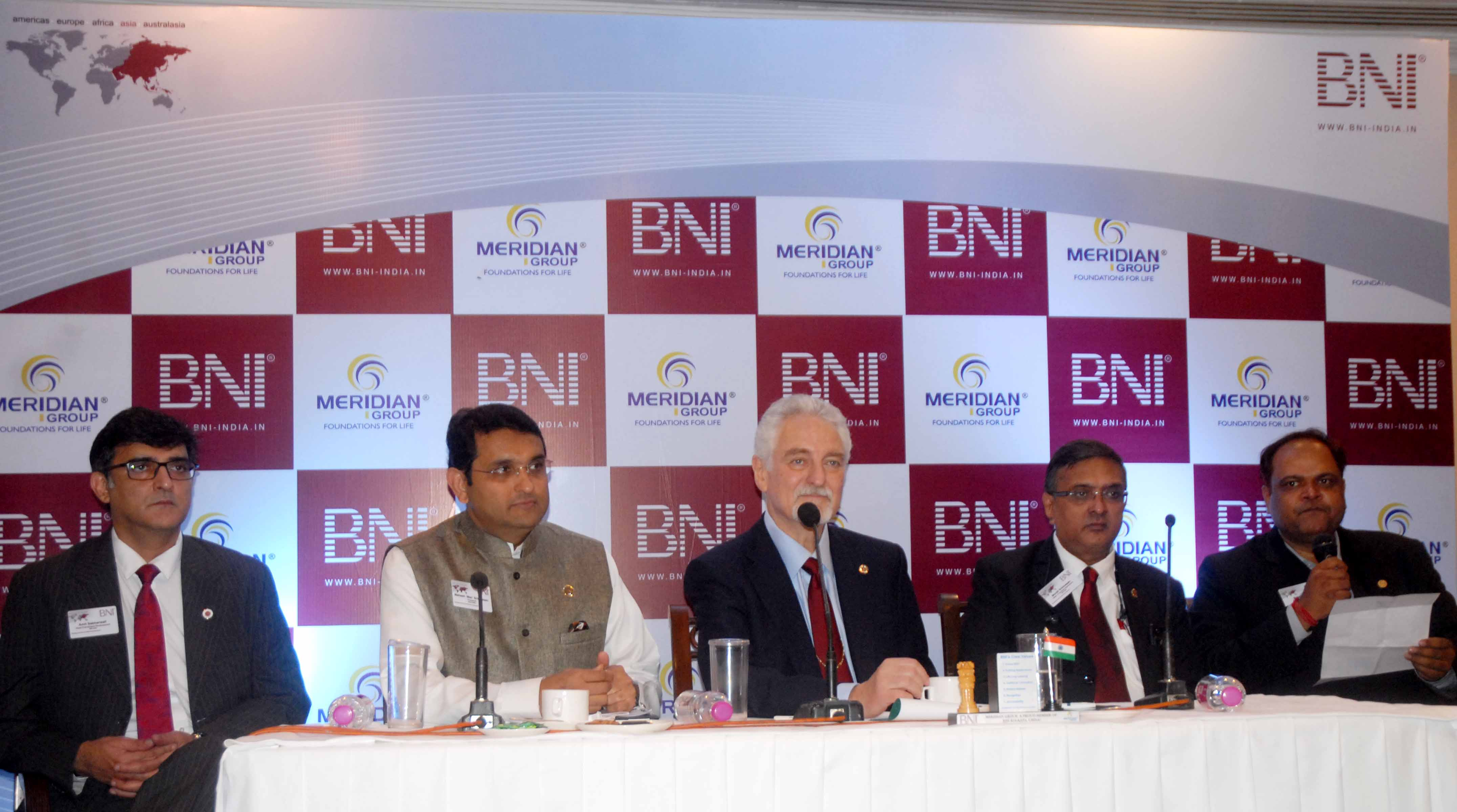 BNI - Kolkata Meet the press
