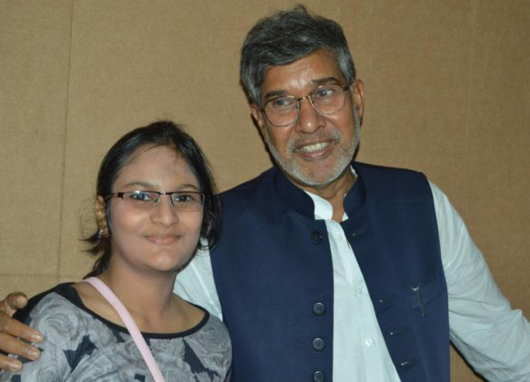 Sutithi Munshi,IBG NEWS & Kailash Satyarthi Noble Peace Prize Winner
