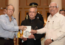 Image result for President of India Receives First Copy of Book Metaphysics, Morals and Politics