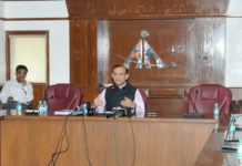 The Minister of State for Civil Aviation, Shri Jayant Sinha briefing the media on Digiyatra, in New Delhi on June 08, 2017.