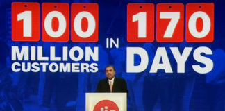 Jio Mukesh Ji - 100 Million Customer
