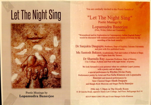 Let The Night Sing - Book Release
