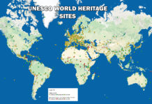 UNESCO World Heritage Map