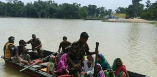 Indian Army at Bihar Flood3