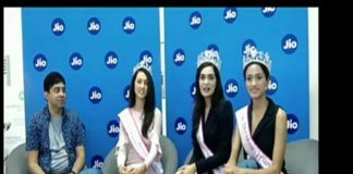 Jio Connects with Femina Miss India Winners