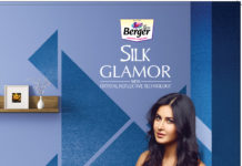 Katrina Kaif in Berger Silk Glamor