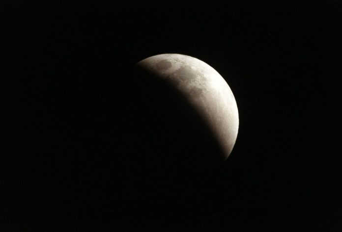 PARTIAL ECLIPSE OF THE MOON AUGUST 7- 8, 2017 (VISIBLE IN INDIA)