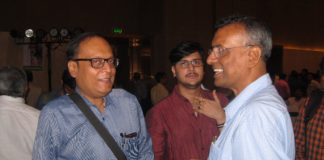 Suman Munshi with Chandra Sekhar Ghosh CMD Bandhan Bank