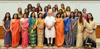Delegation from Young FICCI Ladies Organisation calling on the Prime Minister, Shri Narendra Modi, in New Delhi on August 03, 2017.