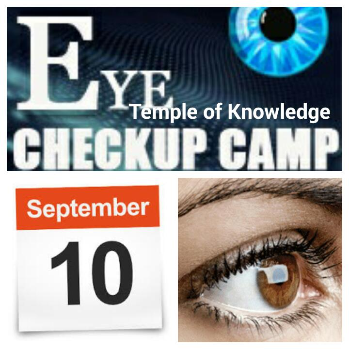 31d4365e804 Free Eye Check-up was organised on invitation from The Art of Living ...