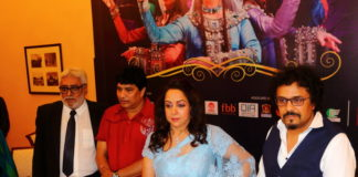 Hema Malini & Pandit Bikram Ghosh - Kolkata Press Meet Pic 9