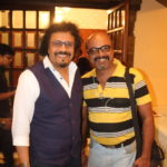 Indrajit Mitra with Bikram Ghosh