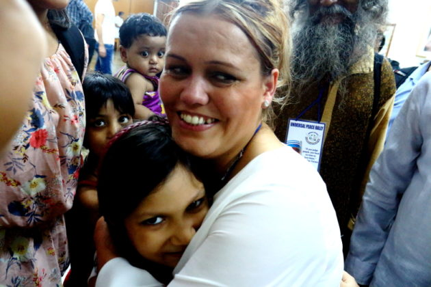 My Journey with Jillian Haslam - Inside Holy Mother House with the Kids