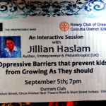 My Journey with Jillian Haslam - The Lecture with the Rotary District 3291