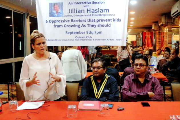 My Journey with Jillian Haslam - The Lecture with the Rotary District 3291 Pic 7