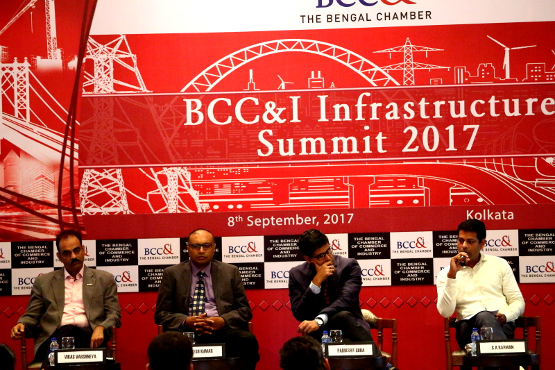 Second Edition of Bengal Chamber's Infrastructure Summit at Kolkata Pic 2