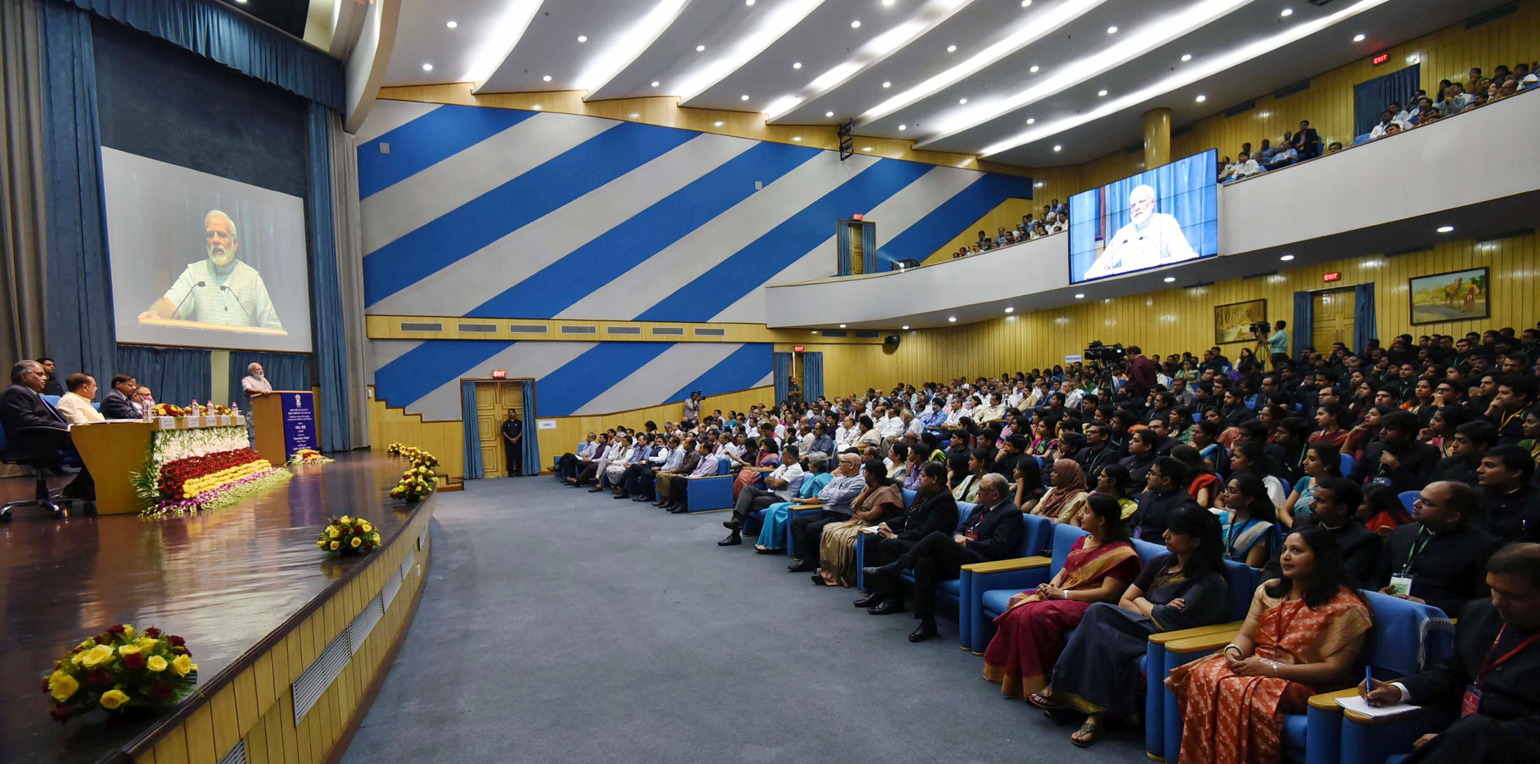 The Prime Minister, Shri Narendra Modi addressing the Valedictory Session of Assistant Secretaries (IAS Officers of 2015 batch), at DRDO Bhawan, in New Delhi on September 26, 2017.