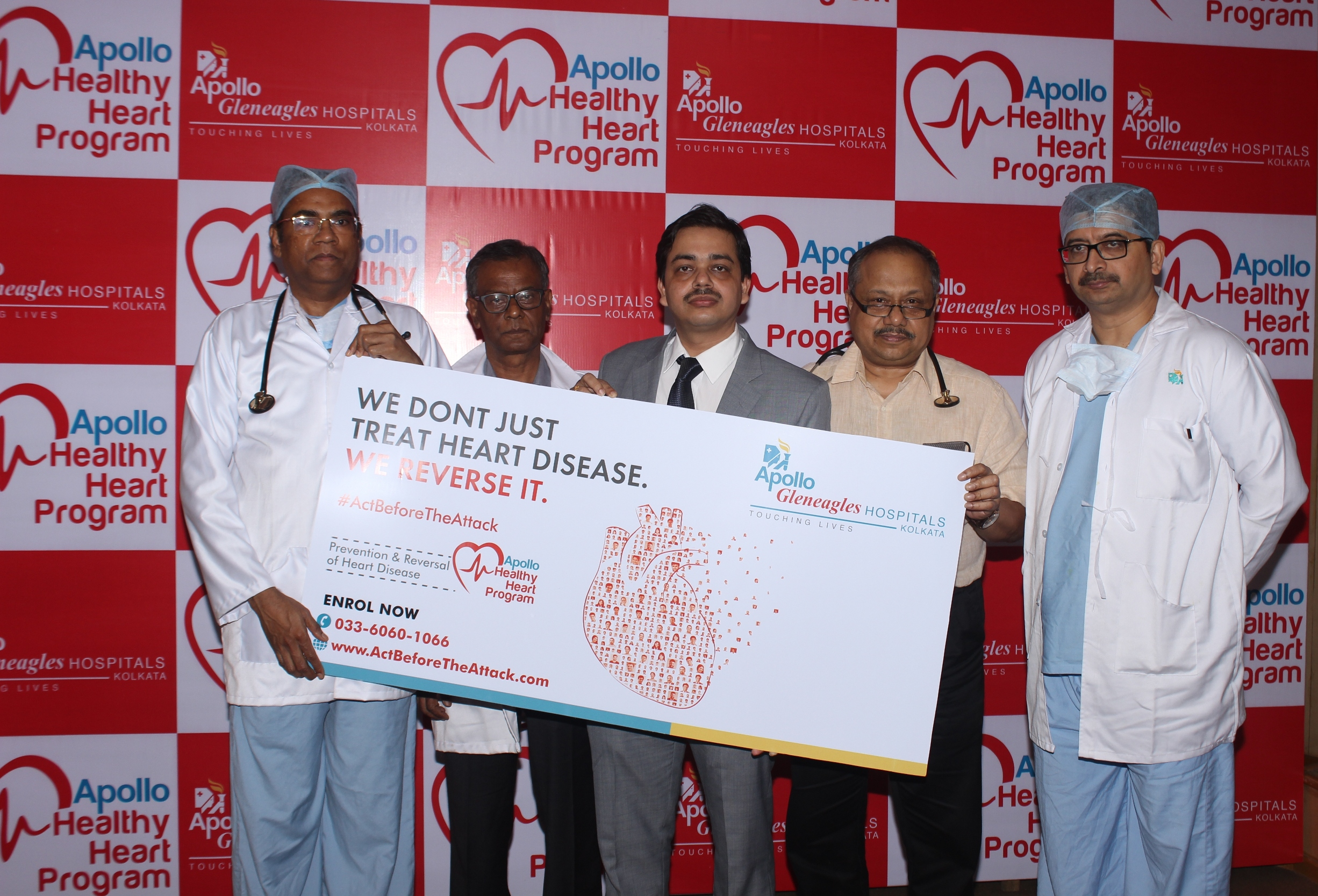 Apollo Gleneagles Hospitals launches Eastern India's first Heart Disease Prevention & Reversal Program