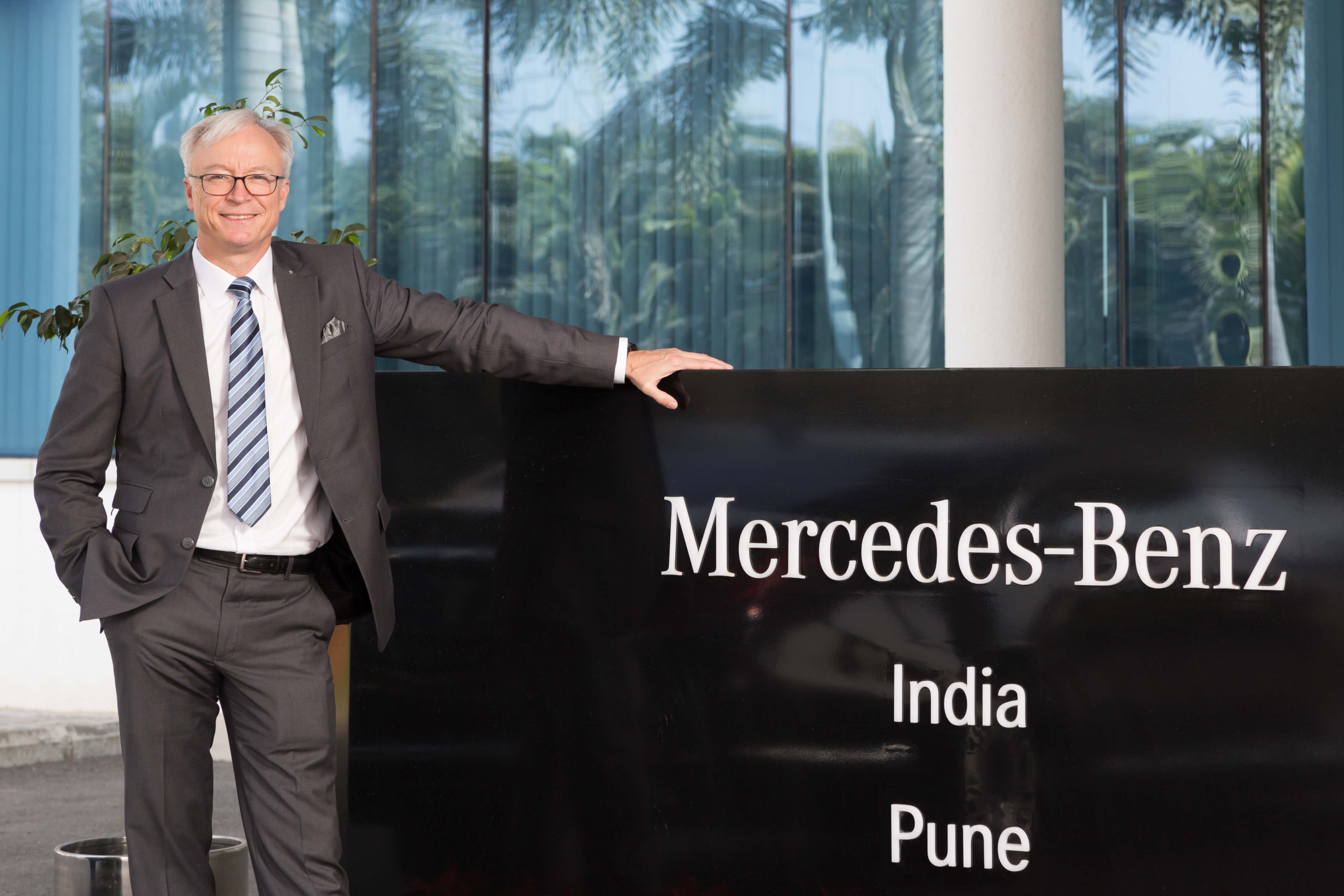 Roland Folger MD and CEO MB India