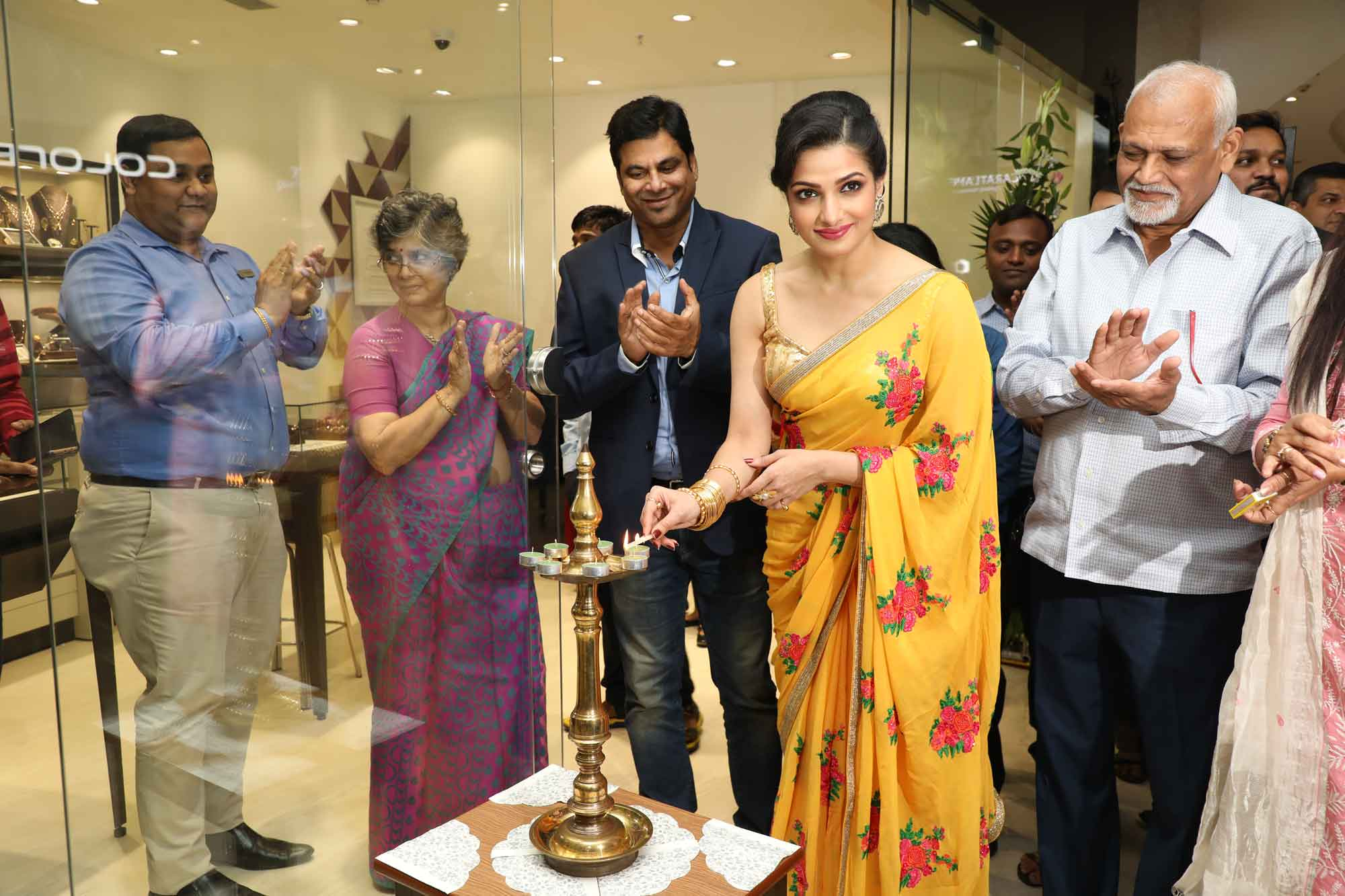 Tanushree Chakraborty at CaratLane Store opening