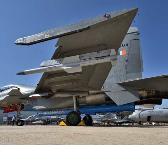 Su-30MKI with Brahmos