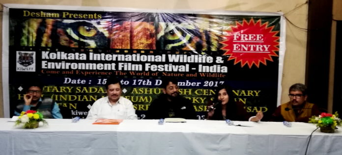 3rd Kolkata International Wildlife & Environment Film Festival will start from 15th Dec 2017 at Kolkata,Breaking News,IBG NEWS,Wildlife,Environment,Kolkata,Kolkata International Wildlife & Environment Film Festival