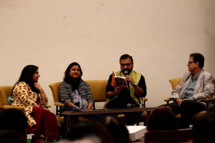 The Book Launch of CROSSING OVER By Author Kaushik Mitra
