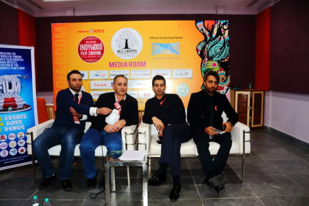 Indywood Film Festival 2017 at Hyderabad - Iranian Film Director & Team