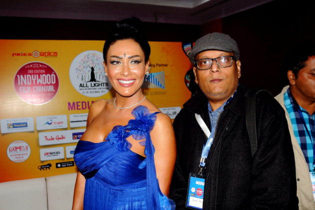 Indywood Film Festival 2017 at Hyderabad - Suman Munshi with Rima Irani Director
