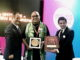 Kolkata's Fface Director Neil Roy and Fashion Director Indroneel Mukherjee wins Indywood Excellence Awards at Ramoji Film City Hyderabad