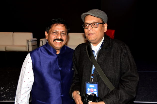 Mr.Sohan Roy Founder Indywoods & Suman Munshi Chief Editor Founder IBG NEWS