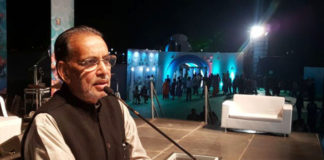 The Union Minister for Agriculture and Farmers Welfare, Shri Radha Mohan Singh addressing on the occasion of Aqua Goa Mega Fish Festival, 2017, in Panaji, Goa on December 09, 2017.