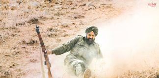 Gippy Grewal during the shoot of the upcoming Bollywood movie 'Subedar Joginder Singh'_2