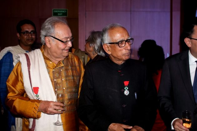 Soumitra Chatterjee - French Award Night 11