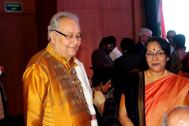 Soumitra Chatterjee - French Award Night 2