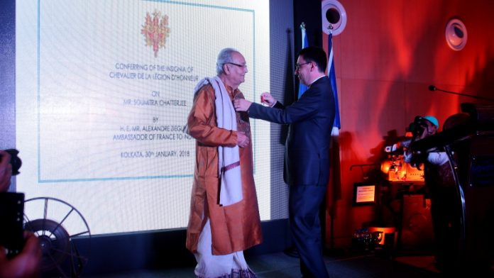 Soumitra Chatterjee - French Award Night 7