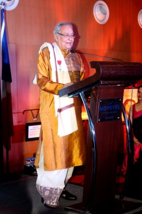 Soumitra Chatterjee - French Award Night 9