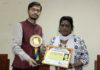 "Manit Singh gets ""Gau Seva Excellence Award"" - Young Gun shows the way"