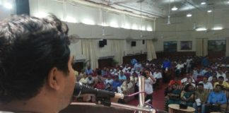Faruque Ahamed at SC & ST meeting