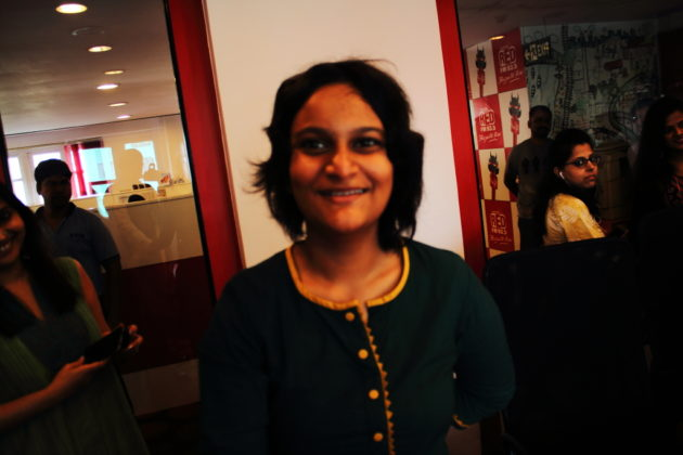Kailash Satyarthi Nobel Peace Prize Winner took this photo of Sutithi Munshi from IBG NEWS Team